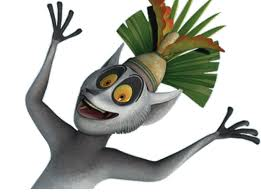 King Julian  aus Madagaskar